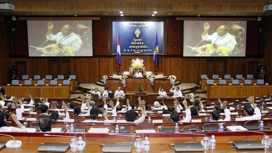 Cambodia's parliament on September 23, 2013, approved a new five-year term for Prime Minister Hun Sen following weeks of political turmoil over his disputed election win.