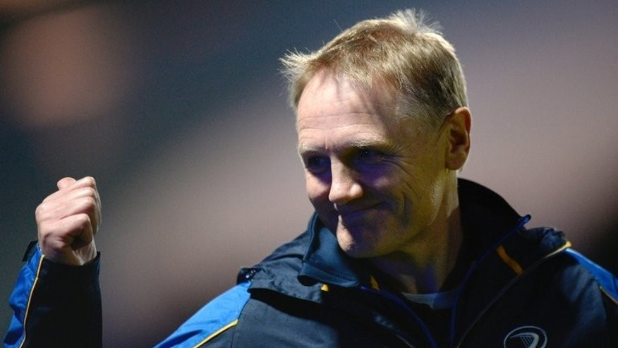 File photo of Joe Schmidt who now has the challenge of guiding Ireland's fortunes after succeeding Declan Kidney on a three-year contract encompassing the 2015 World Cup in England.