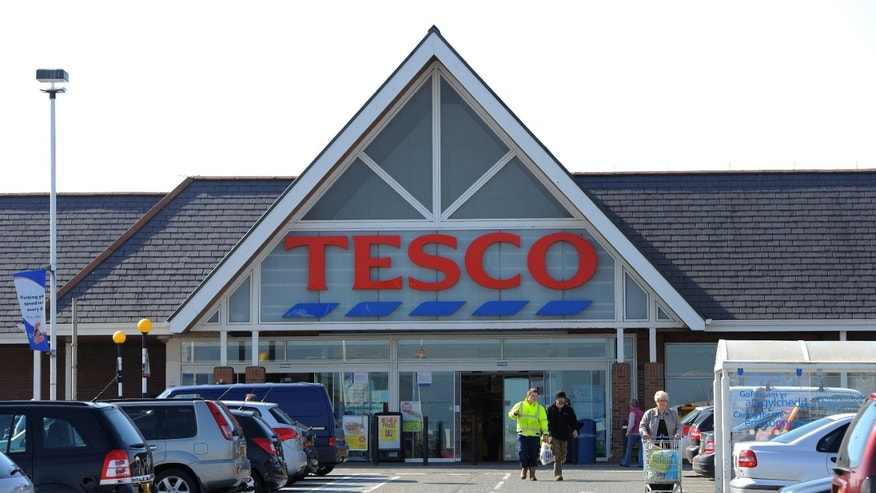 A Tesco supermarket in Holyhead, Wales. Britain's biggest retailer has unveiled its first tablet computer, as the supermarket chain seeks to boost flagging sales in its domestic market.