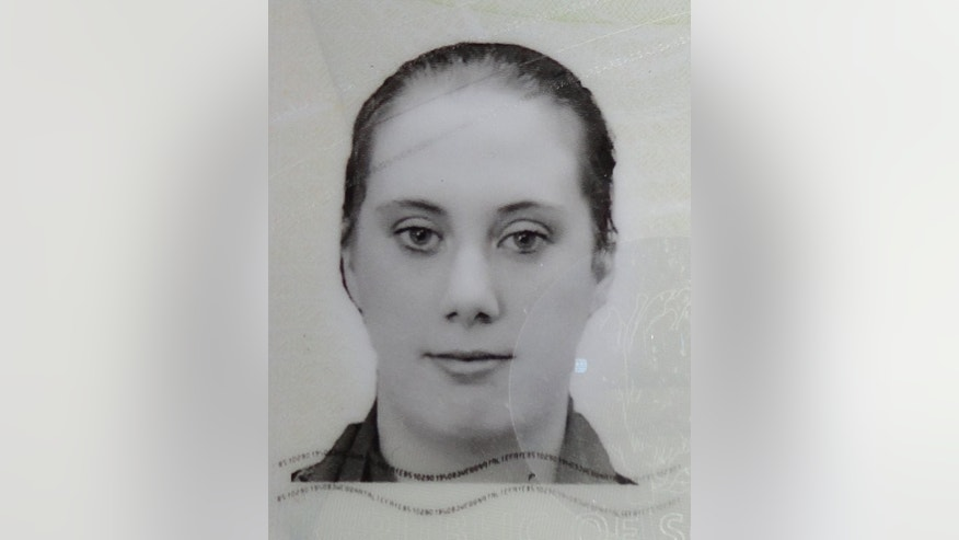 A photo of Samantha Lewthwaite taken from her fake South African passport released by Kenyan police in December 2011. Lewthwaite, nicknamed 'The white widow', widow of suicide bomber Germaine Lindsay, who blew himself up on a London Underground train on July 7, 2005.