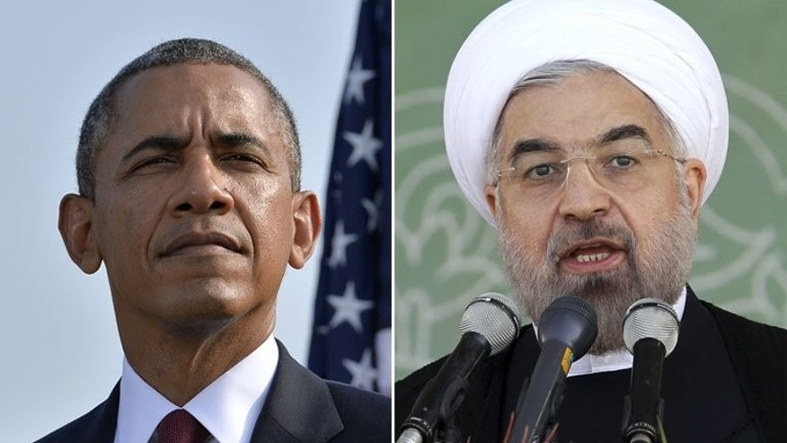 US President Barack Obama (left) and his Iranian counterpart Hassan Rowhani will both address the UN General Assembly in new York. Iran's foreign ministry says no meeting between Rowhani and Obama was on the agenda at the UN General Assembly.