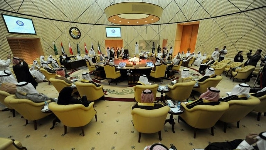 The 32nd meeting of the Oil Ministers of Gulf Cooperation Council for the Gulf states in Riyadh on September 24, 2013.