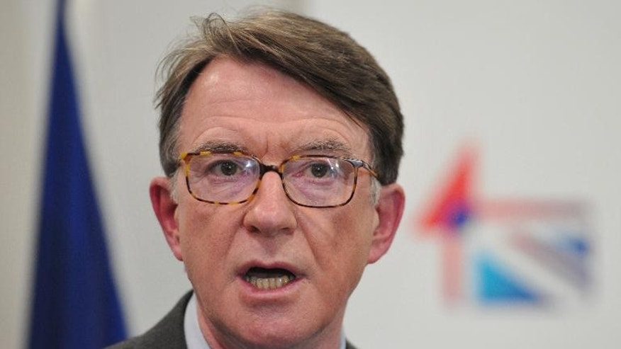 New Labour architect Peter Mandelson has warned that the party could appear to be going backwards if it sticks to leader Ed Miliband's pledge to freeze energy prices, the Guardian reported on Thursday.