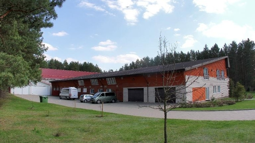 "A picture taken on April 26, 2012 shows a training center of the Lithuanian State Security Department, the country's domestic intelligence agency, in Antaviliai near Vilnius. Rights groups claim it was used as a CIA ""black site."""