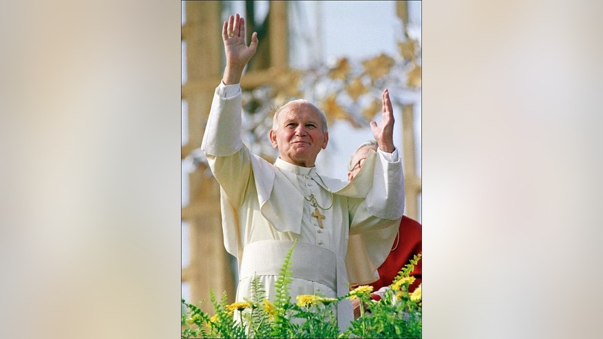 John Paul II, who served as pontiff from 1978-2005, was credited with his first miracle just six months after his death, when a French nun said she had been cured, through prayer, of Parkinson???s -- a disease he had also suffered from.