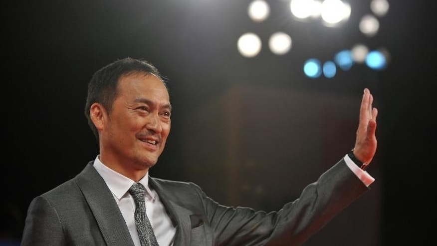 "Actor Ken Watanabe arrives for the screening of ""Unforgiven"" at the Venice Film Festival on September 6, 2013"