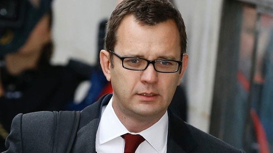 Oct. 31, 2013: Andy Coulson arrives at The Old Bailey law court in London.