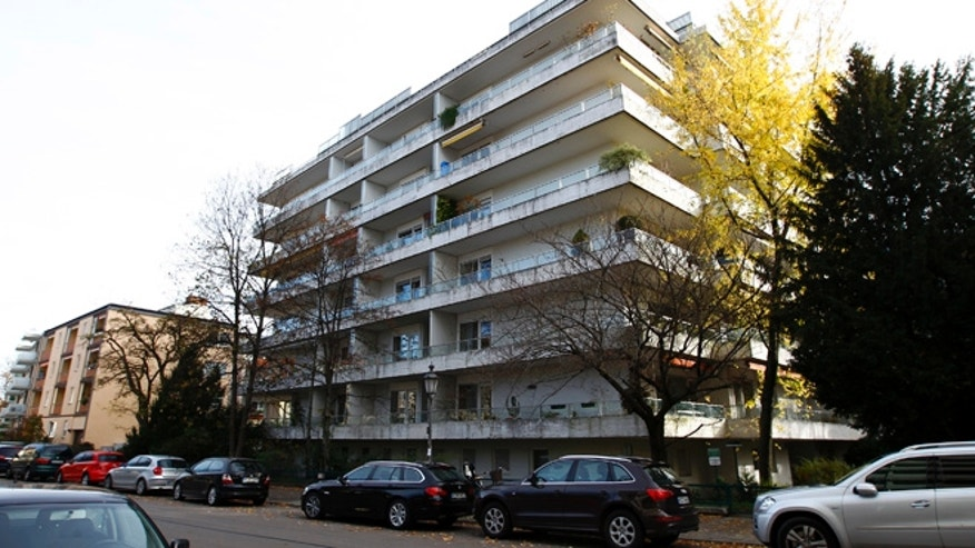 """Nov. 4, 2013: A general view of an apartment building in Munich, where it is believed that German customs discovered missing artworks. A vast collection of modern art branded """"degenerate"""" and seized by the Nazis which includes works by Picasso, Matisse and Chagall has been discovered in a Munich flat amongst stacks of rotting groceries, German magazine Focus reported."""