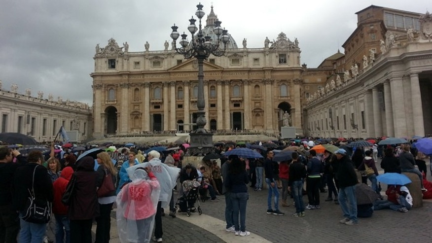Crowds have been flocking to St. Peter's Square in Vatican City since Pope Francis assumed the papacy. (FoxNews.com)