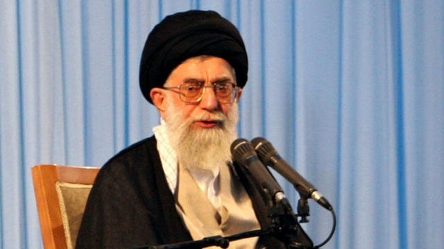 Iran's supreme leader, Ayatollah Ali Khamenei. (AP Photo)