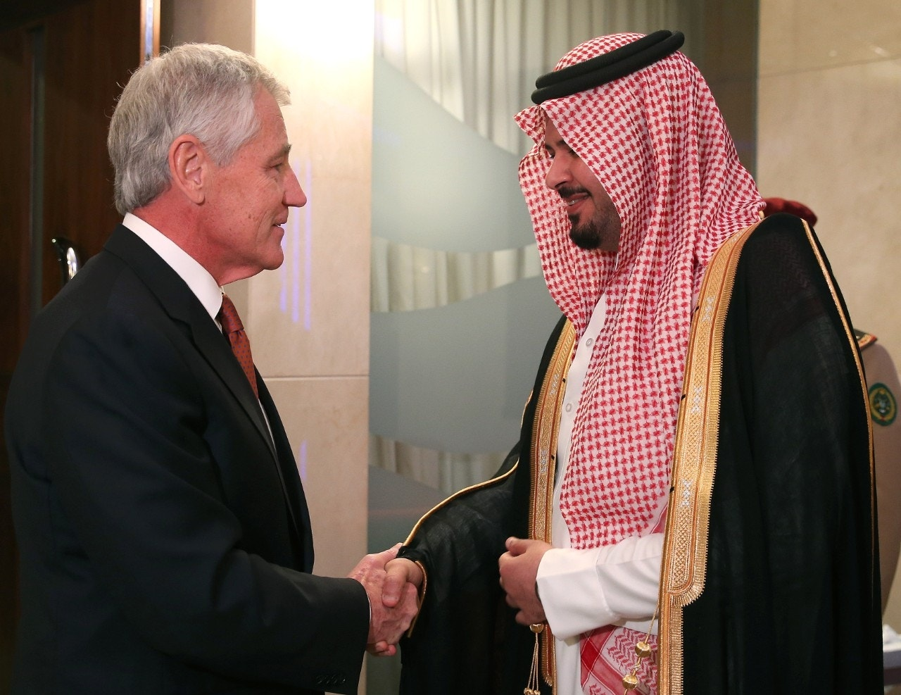 Hagel outlines new weapons sale plan for Gulf nations to protect against Iran threat