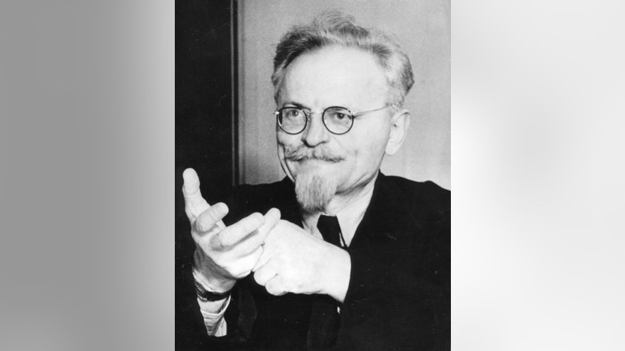 FILE - This file photo shows a portrait of Leon Trotsky, the former bolshevist leader and creator of the red army, taken on Aug. 9, 1940, shortly before an attack made on him on August 20, 1940, at his home in Mexico city. North Korea's execution of Kim Jong-un's uncle suggests that the boyish leader has learned to wield their realpolitik playbook, ridding himself of one would-be rival and sowing fear among others who might challenge him. Stalin, Hitler and other of the 20th century's most notorious dictators, methodically ousted opponents to brazenly seize and consolidate power. (AP Photo, File)