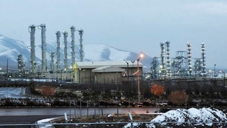 Jan. 15, 2011: A file photo shows Iran's heavy water nuclear facilities near the central city of Arak 150 miles southwest of Tehran. (AP)