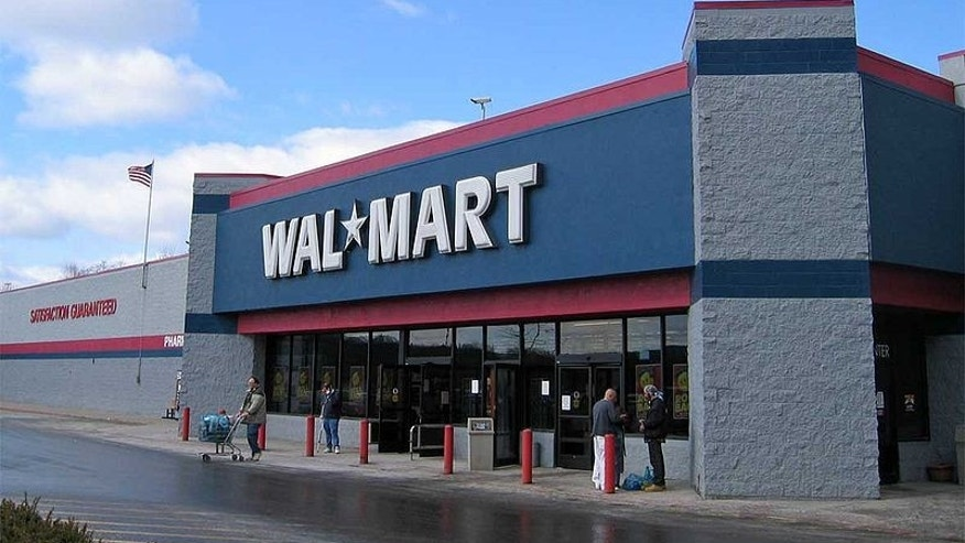 A Wal-Mart store in Texas.