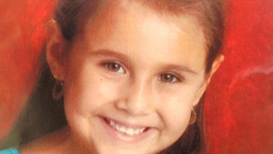 FILE - This undated file photo provided by the Tucson Police Department shows Isabel Mercedes Celis, 6, who has been missing since April 21, 2012 from he Tucson, Ariz., home. Dozens of police officers knocked on doors in a Tucson neighborhood Wednesday Jan. 15, 2014, in hopes of finding new information in an investigation of Celis, who was abducted more than 18 months ago.  (AP Photo/Tucson Police Department, file)