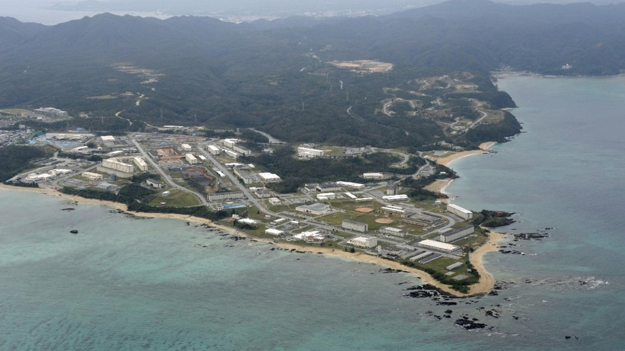 Dec. 26, 2013 - FILE photo of Henoko of Nago city on the southern Japanese islands of Okinawa. Japan has said it will move ahead with the long-awaited relocation of a U.S. military base, a major step toward plans to consolidate its troops in Okinawa and move some to Guam.