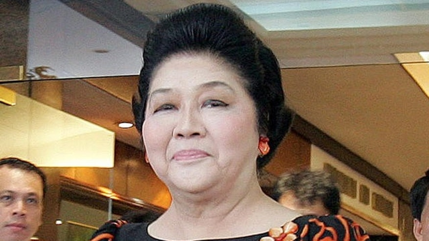Sept. 17, 2007 - FILE photo of Former Philippine First Lady Imelda Marcos in Quezon City, north of Manila.
