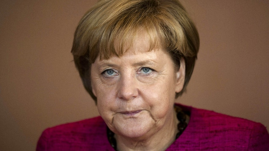 Aug. 14, 2013 - FILE picture of German Chancellor Angela Merkel attending a cabinet meeting in Berlin.