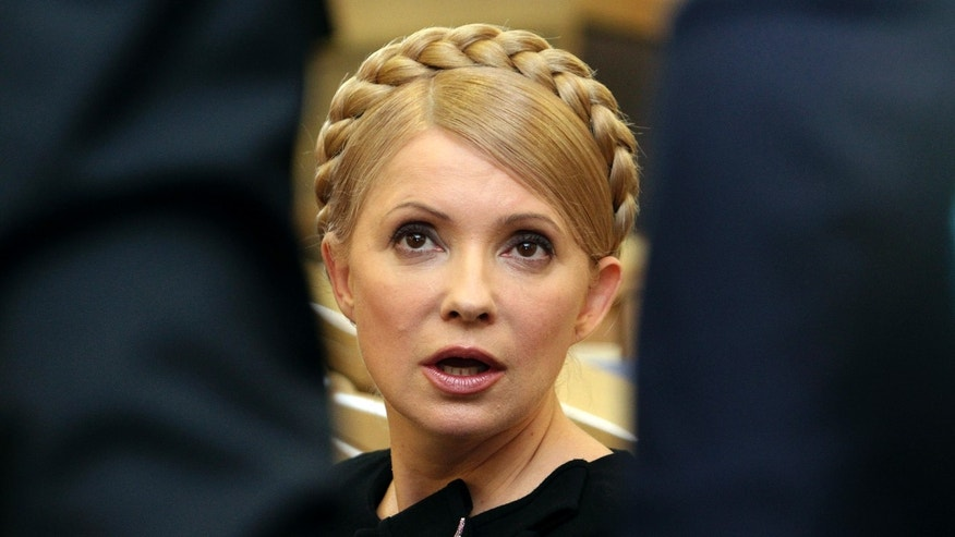 Feb. 19, 2010: Ukrainian Prime Minister Yulia Tymoshenko speaks during a session of the Higher Administrative Court in central Kiev.