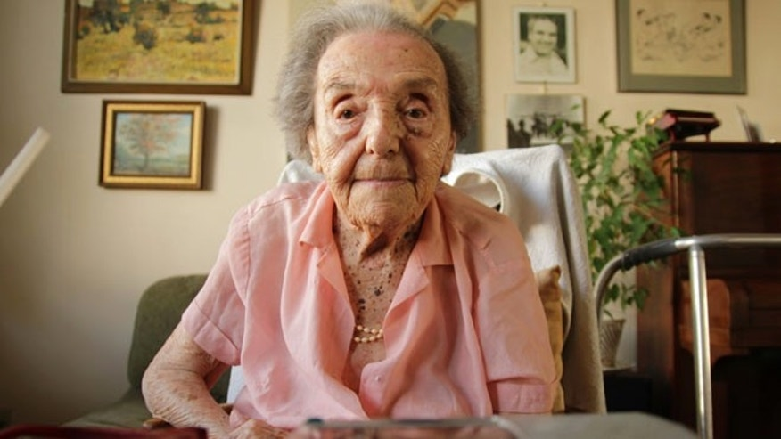 Photo dated July 2010 made available by the makers of the Oscar nominated documentary The Lady in Number 6, in which she tells her story, of Alice Herz-Sommer, believed to be the oldest-known survivor of the Holocaust, who died in London on Sunday morning at the age of 110. Herz-Sommers devotion to the piano and to her son sustained her through two years in a Nazi prison camp.