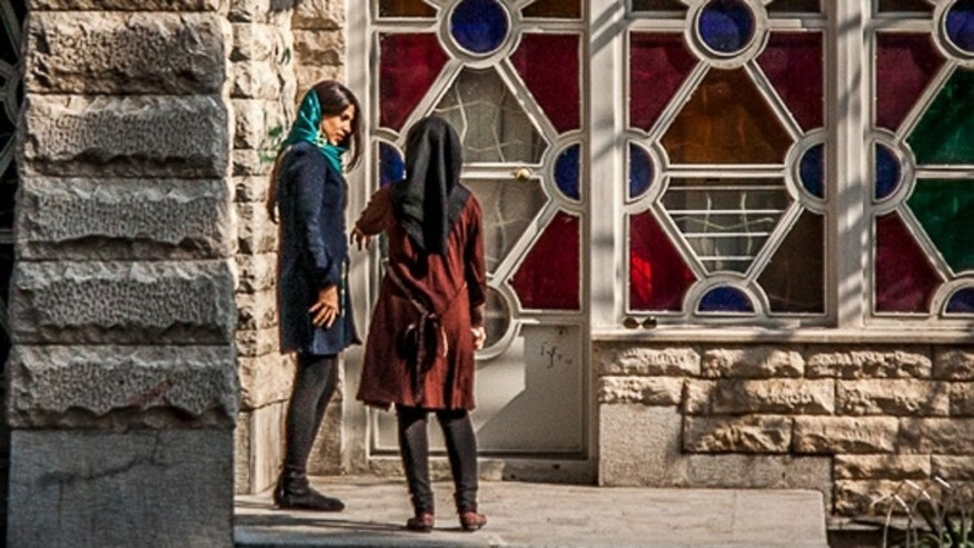 Iran's reeling economy has made it hard for women to buy western clothes and accessories, but local designers make cheaper versions. (Niloofar Rezaee)