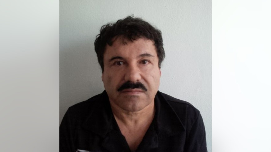 "In this image released by Mexico's Attorney General's Office, Saturday, Feb. 22, 2014, Joaquin ""El Chapo"" Guzman is photographed against a wall after his arrest in the Pacific resort city of Mazatlan, Mexico.  After 13 years on the run, narrow escapes from the military, law enforcement and rivals, Joaquin ""El Chapo"" Guzman is back in Mexican custody. Now starts what is likely to be a lengthy and complicated legal process to decide which country gets to try him first. (AP Photo/PGR)"