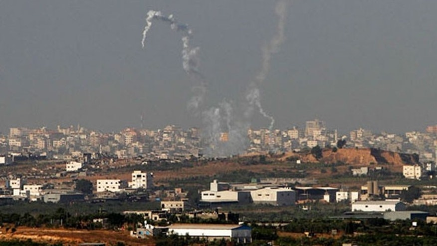 Rockets have rained down on Israel from Gaza in recent days. (Reuters)