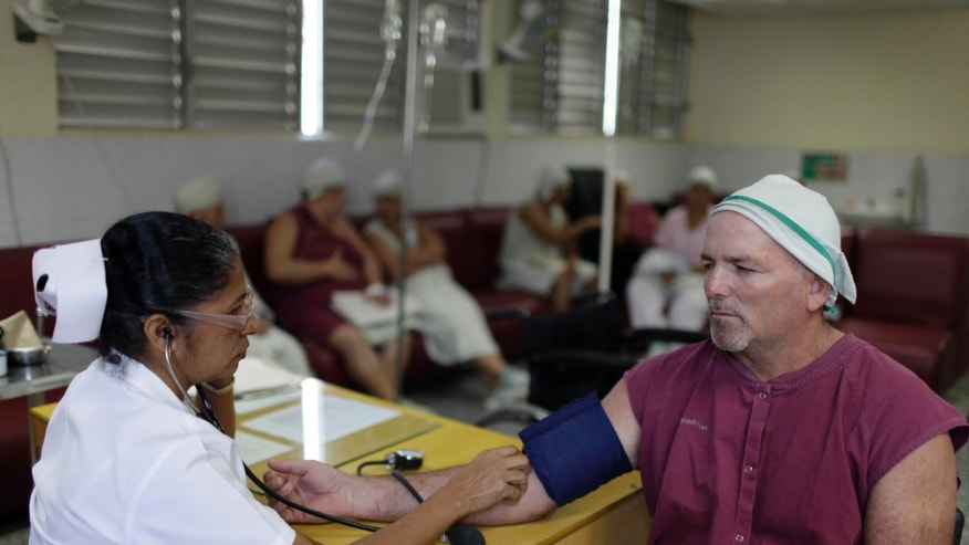 Feb 8, 2013  - A nurse checks a patient's blood pressure at the Dr. Gustavo Lima Aldereguía Hospital in Cienfuegos, Cuba. Cuba is giving its hundreds of thousands of medical workers raises that in some cases exceed 100 percent, official media on the island announced Friday.