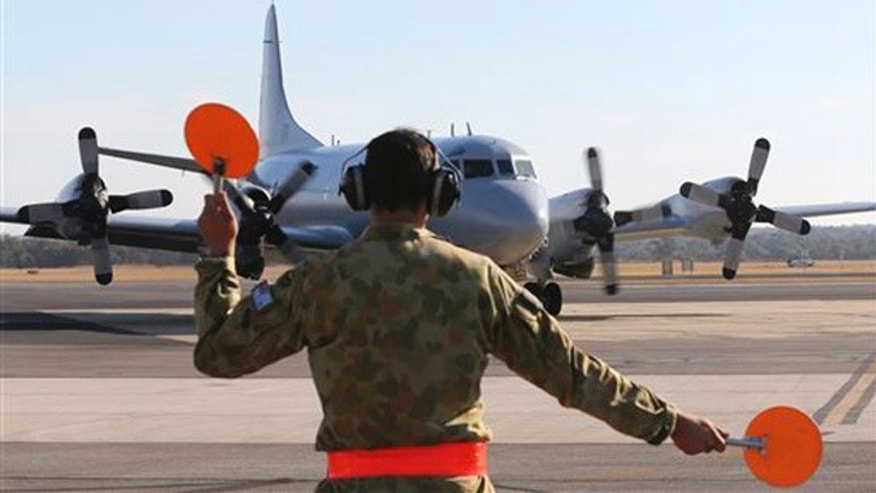 Royal Australian Air Force AP-3C Orion on the tarmac at RAAF Base Pearce, March 27, 2014.