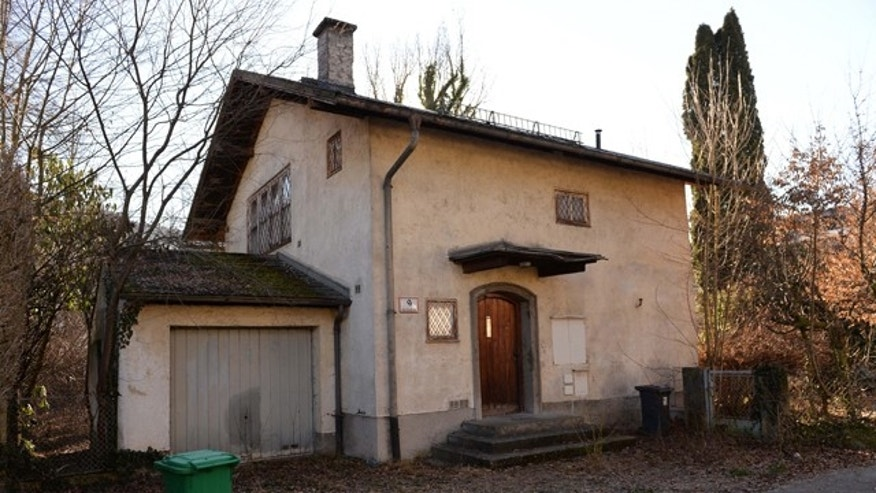 This picture taken Thursday, Feb. 13, 2014 shows the house of Cornelius Gurlitt in Salzburg, Austria. Austrian state television said last week experts have found 180 artworks  including a long-lost painting by Claude Monet  in this house of the German art collector who hoarded art in his Munich apartment for decades. (AP Photo/Kerstin Joensson)