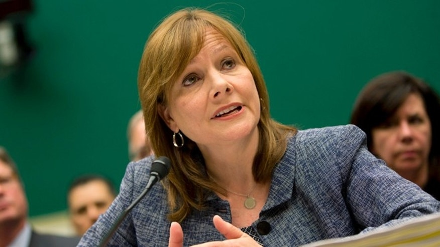 April 1, 2014: General Motors CEO Mary Barra testifies on Capitol Hill in Washington.