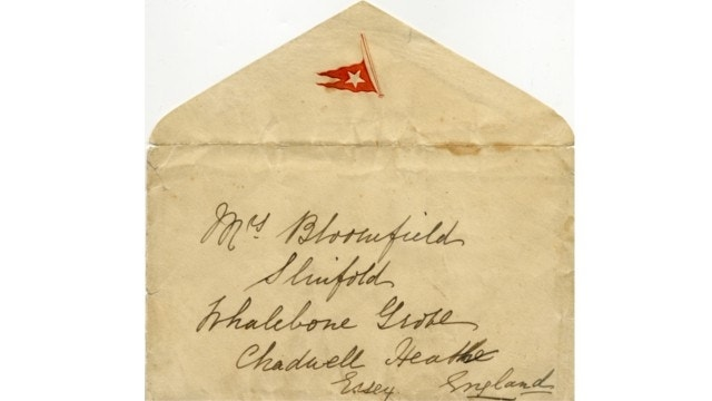 Letter written on Titanic hours before sinking to be auctioned