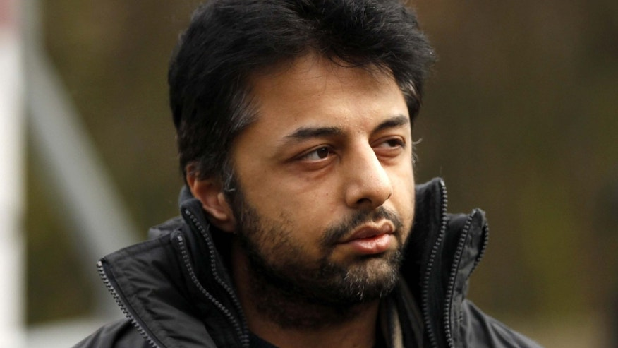 Feb. 24, 2011: In this file photo, Shrien Dewani, the British man accused of having his wife murdered during their honeymoon in South Africa, arrives at Belmarsh Magistrates' Court in London.