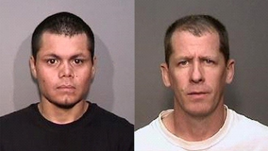 Franc Cano, 27 (l) and Steven Dean Gordon, 45 (r)