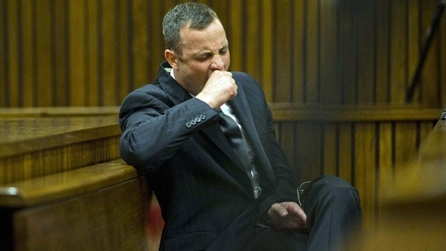 South African journalist accuses Oscar Pistorius of taking acting lessons before trial