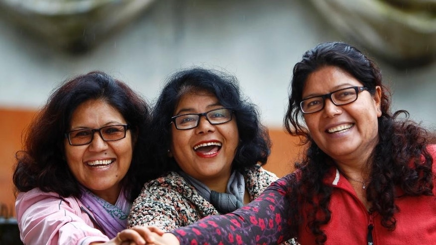 sisters reach the top in nepal 39 s trekking industry teaching women to become mountain guides