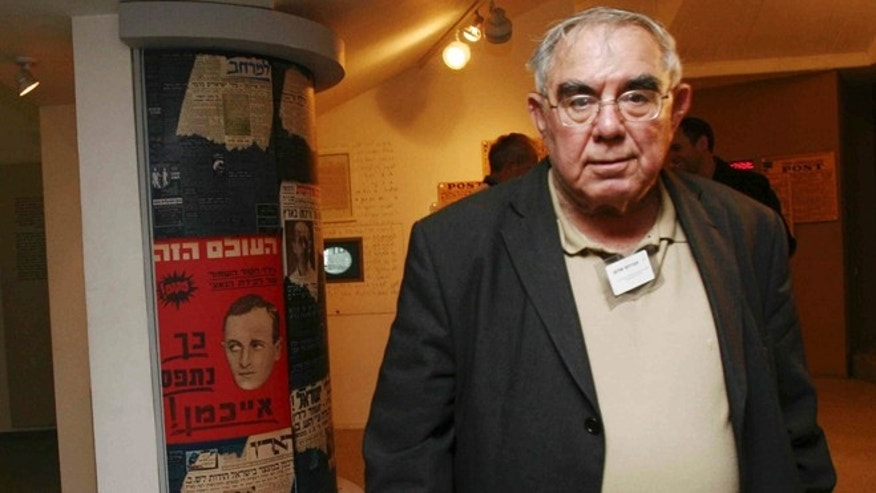 Jan 14, 2007: Former Israeli Shin Bet chief Avraham Shalom is seen during a reunion of Israelis who were involved captivity of Nazi SS officer Adolf Eichmann in Tel Aviv, Israel.