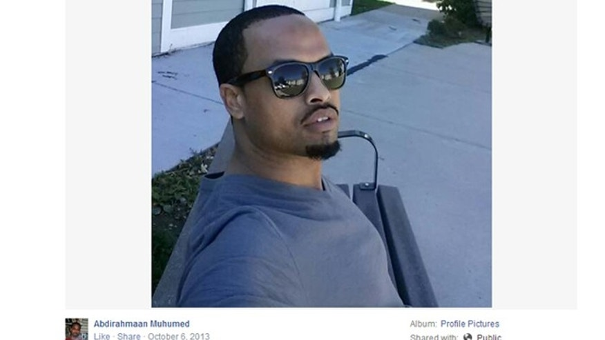 Abdirahmaan Muhumed is one of as many as 15 Minnesota Somali-Americans who left their homes to join ISIS, according to Minnesota Public Radio. (Screengrab from public Facebook page).