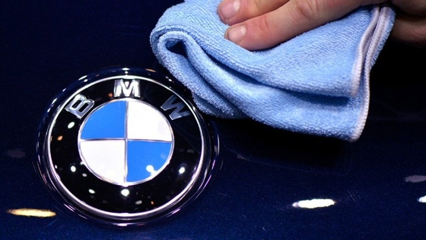 GENEVA, SWITZERLAND - MARCH 06:  The BMW logo is seen during the 83rd Geneva Motor Show on March 5, 2013 in Geneva, Switzerland. Held annually with more than 130 product premiers from the auto industry unveiled this year, the Geneva Motor Show is one of the world's five most important auto shows.  (Photo by Harold Cunningham/Getty Images)