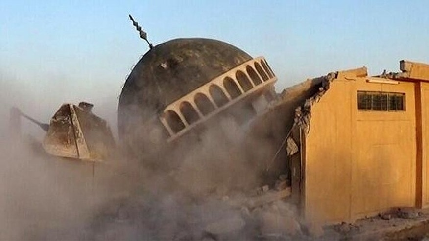 ISIS operatives have also destroyed four religious Muslim shrines in the region, including the the Ahmed al-Rifai shrine and tomb, also in Tal Afar.