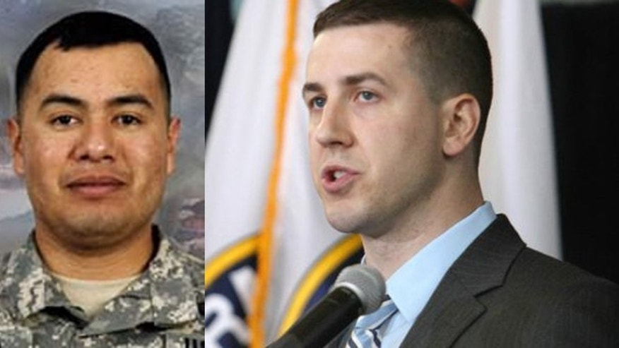 Left: Sgt. Israel Garcia (U.S. Army); Right: Ryan Pitts (AP)