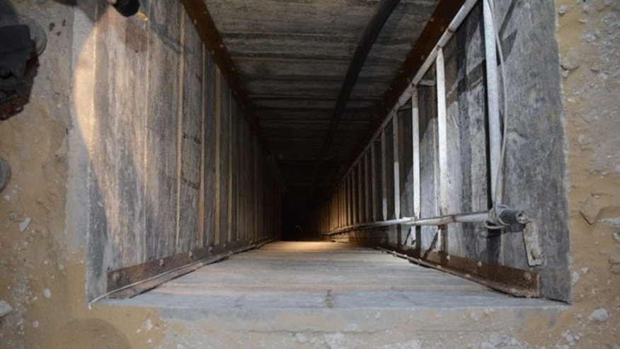 Some 60 shafts connect to at least 28 tunnels. (Courtesy: IDF)