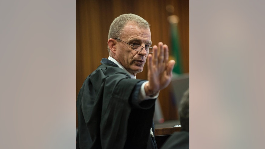 Prosecutor: Lying Pistorius has lost race, must be ...