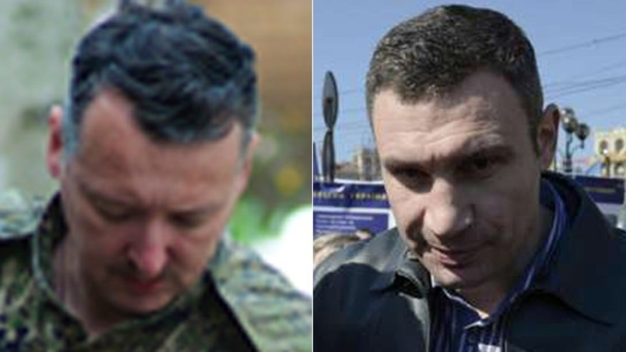 Separatists led by Igor Strelkov, (l.), gunned down an ally of Kiev Mayor Vasili Klitschko, (r.), in an incident that is likely to inflame Ukraine's volunteer militias. (Jamie Dettmer, Reuters)
