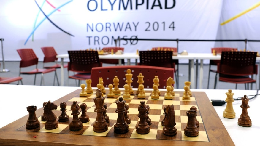 August, 1, 2014 - FILE photo of the Chess Olympiad 2014 in Tromsoe, Norway.  The major international chess tournament ended with 1 player dying in the middle of a game and another found dead in a hotel room.