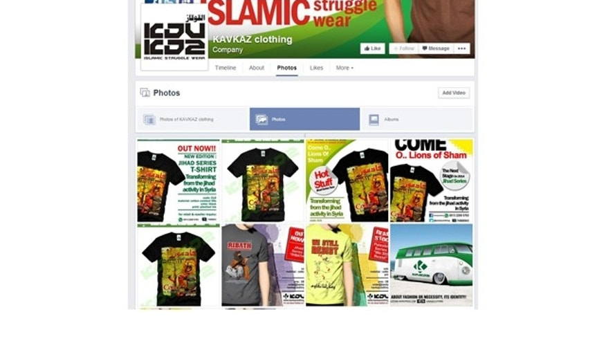 New pages touting jihad and ISIS-branded street wear have popped up since the statement was made by Facebook officials in June after a FoxNews.com inquiry.