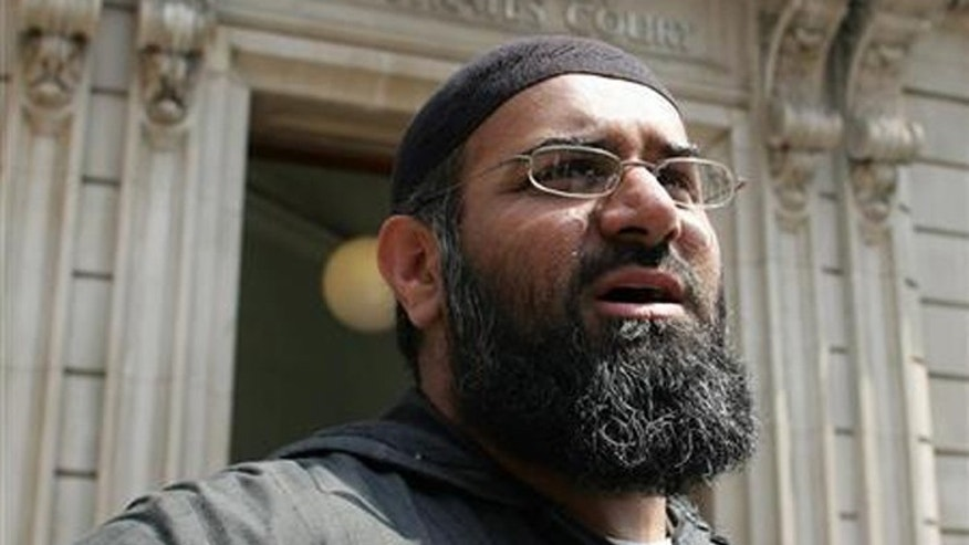 "Anjem Choudary, a firebrand Muslim cleric based in London, calls Islamic State fighters ""noble."" (Reuters)"