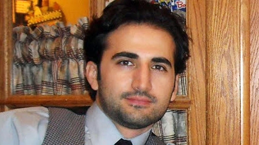 This undated file photo released by his family via FreeAmir.org shows Amir Hekmati who has been detained in Iran for two years on accusations of spying for the CIA. (AP/FreeAmir.org)