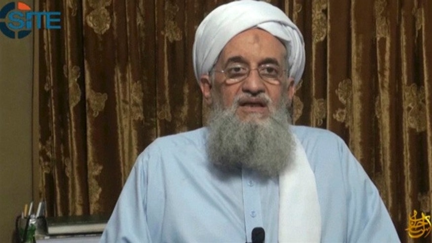 September 4, 2014: In this image taken from video, Ayman al-Zawahri, head of Al Qaeda, delivers a statement in a video which was seen online by the SITE monitoring group. (AP Photo/Al-Qaida via SITE via APTN)