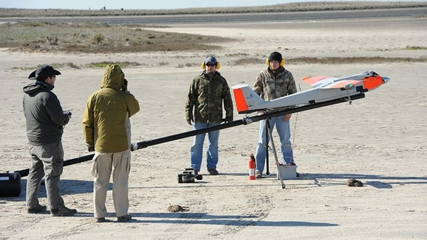 Photo: Lone Star Unmanned Aircraft Systems Center at Texas A&M University-Corpus Christi